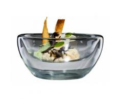 bloomix Thermoglas für Speisen, 4er Set, »Flatbowl Grande«, transparent, Neutral, transparent