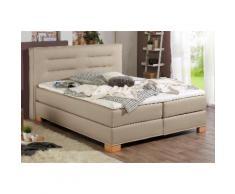 Home affaire Boxspringbett Finley beige Einzelbetten Betten Komplettbetten