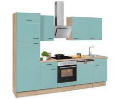 OPTIFIT Küchenzeile Elga grün Küchenzeilen ohne Geräte -blöcke Küchenmöbel Arbeitsmöbel-Sets
