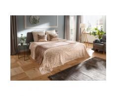 my home Tagesdecke Bela, auch als Tischdecke und Sofaüberwurf einsetzbar beige Baumwolldecken Decken