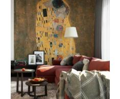 Vliestapete Klimt - Der Kuss bunt Fototapeten Tapeten Bauen Renovieren