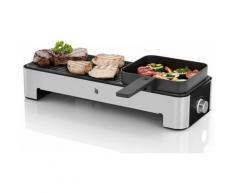 WMF Tischgrill KÜCHENminis, 1000 Watt silberfarben Elektrogrills Grill Haushaltsgeräte