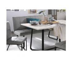 Homexperts Polsterbank, Breite 140 oder 160 cm grau Polsterbank Polsterbänke Sitzbänke Stühle