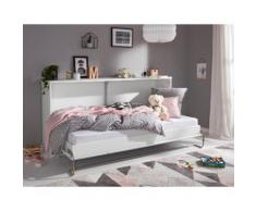 priess Klappbett, wahlweise mit LED-Beleuchtung weiß Betten Klappbett