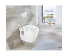 welltime Tiefspül-WC Dover weiß WC-Becken WC und WC-Zubehör Bad