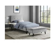 INOSIGN Bettbank Freya grau Bettbänke Sitzbänke Stühle