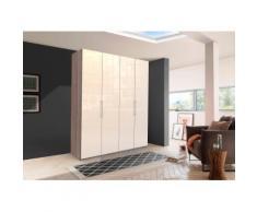 WIEMANN Falttürenschrank Loft, Glasfront beige Kleiderschränke Schränke Vitrinen Möbel sofort lieferbar