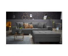 INOSIGN Big-Sofa Vale, grau, anthrazit