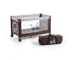 CHIC4BABY Baby-Reisebett Luxus, terranova braun Baby Reisebetten Babybetten Babymöbel