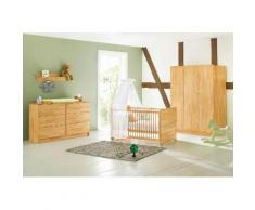 Pinolino Babyzimmer-Komplettset Natura (Set, 3-tlg) beige Baby Baby-Möbel-Sets Babymöbel Schlafzimmermöbel-Sets