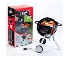 """Klein Kinder-Küchenset """"Weber Spiel-Kugelgrill One Touch Premium"""", schwarz, schwarz"""