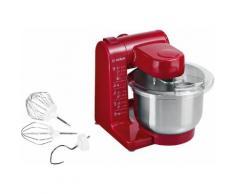 BOSCH Küchenmaschine MUM44R1, 500 Watt, Schüssel 3,9 Liter rot Multifunktionsküchenmaschinen Küchenmaschinen Haushaltsgeräte ohne Kochfunktion