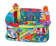 Playgro Bällebad Pop Up Baby, mit vier unterschiedlichen Aktionsstationen bunt Kinder Ab 6 Monaten Altersempfehlung