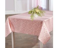 Delindo Lifestyle Tischdecke TORONTO, Fleckabweisend, pflegeleicht, 150 g/m² rosa Tischdecken Tischwäsche