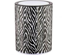 SEE∙MANN∙GARN Kosmetikeimer Zebra schwarz Badaccessoires Wohnaccessoires