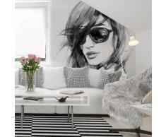 Vliestapete I wear my sunglasses weiß Fototapeten Tapeten Bauen Renovieren