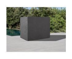 KONIFERA Gartenmöbel-Schutzhülle Los Angeles, für Hollywoodschaukel, (L/B/H): ca. 186x123x162 cm grau Gartenmöbel-Schutzhüllen Gartenmöbel Gartendeko
