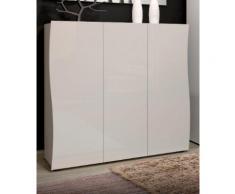 KITALY Schuhschrank Kiss, verbesserte Qualität weiß Schuhregale Schuhschränke Garderoben