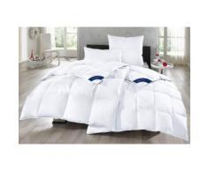 Otto Keller Gänsedaunenbettdecke + Kopfkissen Bella, (Spar-Set), Reines Naturprodukt weiß Daunendecke Bettdecken Bettdecken, Unterbetten Bettwaren-Sets