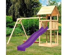 ABUKI Spielturm Rosie, BxTxH: 347x264x291 cm beige Kinder Outdoor-Spielzeug
