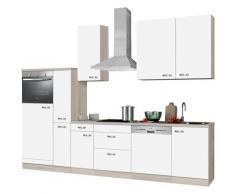 OPTIFIT Küchenzeile Faro, ohne E-Geräte, Breite 300 cm weiß Küchenzeilen Geräte -blöcke Küchenmöbel Arbeitsmöbel-Sets