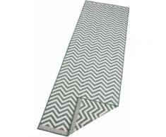 Läufer, Palma, bougari, rechteckig, Höhe 5 mm, maschinell gewebt grün Küchenläufer Läufer Bettumrandungen Teppiche