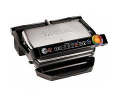 Tefal Kontaktgrill GC730D Optigrill 2000 Watt, schwarz, schwarz