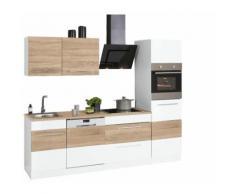 HELD MÖBEL Küchenzeile Trient, ohne E-Geräte, Breite 250 cm weiß Küchenzeilen Geräte -blöcke Küchenmöbel