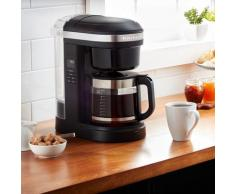 KitchenAid Filterkaffeemaschine 5KCM1208EOB, goldfarbener Permanentfilter, CLASSIC Drip-Kaffeemaschine mit spiralförmigem Wasserauslass schwarz Kaffee Espresso SOFORT LIEFERBARE Haushaltsgeräte