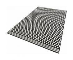 Zala Living Teppich Spot, rechteckig, 9 mm Höhe, Kurzflor gekettelt, Wohnzimmer schwarz Esszimmerteppiche Teppiche nach Räumen
