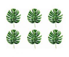 queence Getränkeuntersetzer GC0144, (Set, 6 tlg.), aus Acrylglas grün Untersetzer Küchenhelfer Haushaltswaren