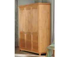 Home affaire Kleiderschrank »Rauna« aus massiver Kiefer, 3-türig, 167 cm breit
