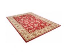 Wollteppich, Panjin, THEKO, rechteckig, Höhe 14 mm, handgetuftet rot Getuftete Teppiche Orientteppich