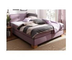 Home affaire Boxspringbett Bristol lila Einzelbetten Betten Komplettbetten