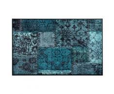 Fußmatte PATCH blau Fußmatten gemustert