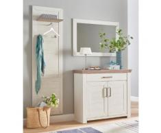 set one by Musterring Garderoben-Set york, (Set, 3 St.), im Landhaus Stil beige Garderoben Möbel mit Aufbauservice