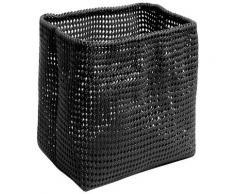 Möve Drahtkorb TUBE, aus Metall mit Kunststoffmantel schwarz Körbe Boxen Regal- Ordnungssysteme Küche Ordnung