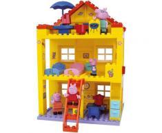 BIG Konstruktions-Spielset BIG-Bloxx Peppa Pig, House, (107 St.) bunt Kinder Bausteine Bausätze Bauen Konstruieren