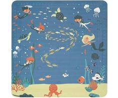 spirella Wanneneinlage Scuba Diver, rutschhemmend, pflegeleicht blau Badewanneneinlagen Badaccessoires Badmöbel