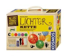 Kosmos Kreativset AllesKönnerKiste Lichterkette, (Set), Made in Germany bunt Kinder Bastelbedarf -techniken Basteln, Malen, Kosmetik Schmuck Kreativsets