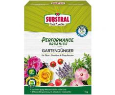 Scotts Substral Pflanzendünger Naturen Performance Organics Gartendünger, 1 kg grün Zubehör Pflanzen Garten Balkon