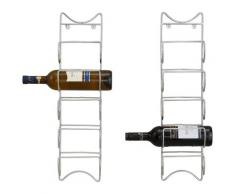 Home affaire Weinregal (Set 2 Teile) silberfarben Weinregale Regale