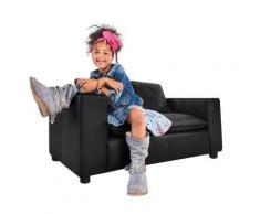 W.SCHILLIG 2-Sitzer gioovani mini, Kindersofa mit Rückenkissen, Breite 113 cm schwarz Sofas Couches Möbel sofort lieferbar