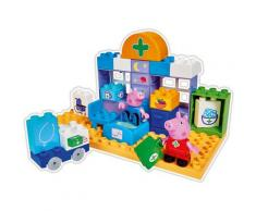 BIG Konstruktions-Spielset BIG-Bloxx Peppa Pig Medical Care Case, (32 St.) bunt Kinder Bausteine Bausätze Bauen Konstruieren