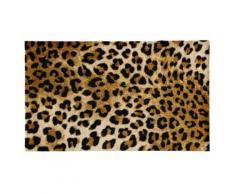 Fußmatte LEOPRINT 5 Gr braun Fußmatten gemustert
