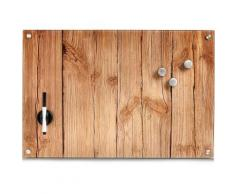 "Home affaire Magnettafel ""Wood"", braun, braun"