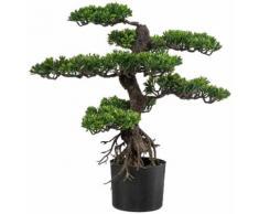 Creativ green Kunstbonsai Bonsai (1 Stück) grün Künstliche Zimmerpflanzen Kunstpflanzen Wohnaccessoires
