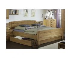 WIEMANN Funktionsbett Münster, teilmassiv beige Betten Möbel mit Aufbauservice