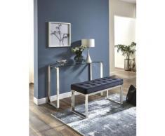 HAKU Polsterbank schwarz Polsterbänke Sitzbänke Stühle