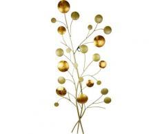 I.GE.A. Wanddekoobjekt Wandbild Kugeln goldfarben Wanddekoration Deko Wohnaccessoires